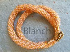 Beaded crochet ropes | MEDIBEADS