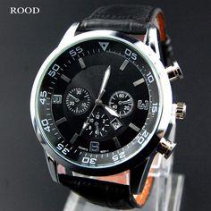 2016 Leather Male Clock Watches Men Quartz digital-watch Military Army Sport Watch Luxury Brand relogio masculino relojes hombre | Price: US $5.47 | http://www.bestali.com/goto/32241678299/10