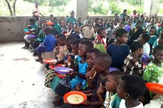 Lunch time in Malawi