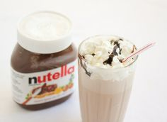 Nutella Milkshakes | Kirbie's Cravings | A San Diego food & travel blog