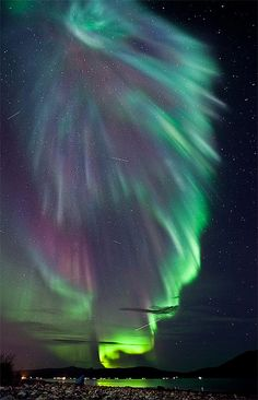 Gorgeous Aurora Lights Photo