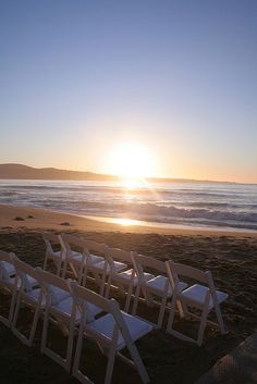 I want to get married on the beach at sunset... It's always been my dream wedding