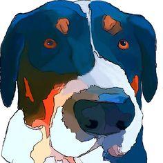Greater Swiss Mountain Dog Art