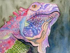 Iguana | Lizards, snakes and birds | Pinterest