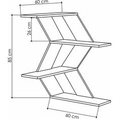 Wave corner shelf is unique in design, featuring stylish shelving for your books, items. Material: MDF board with PVC edge bands for max. Wood Corner Shelves, Unique Wall Shelves, Modern Shelving, Wall Shelves Design, Floating Shelves Diy, Wooden Shelves, Corner Shelf, Floating Wall, Furniture Deals