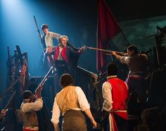 "'Les Misérables' Returns to Broadway - NYTimes.com.. review paints a pop version of this revival --- was so hoping for a re-release, if you will, of the original. In his review Charles Isherwood writes: ""This boisterous celebration of iniquity and greed has always been one of my favorite moments in the show. Here as ever, it's the dramatic equivalent of a double espresso, providing the necessary jolt of caffeine to keep us alert for all the singing and all the suffering to come."" Will see it..."