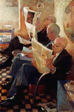 Barbershop News, Sally Strand