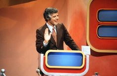 JANUARY 17, 1975: THE MONEYMAZE - 1974-75, Contestants answered questions and then, from their positions overlooking a giant maze, guided their partners through the maze toward a target. Pictured: host Nick Clooney,