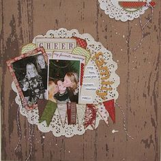 """Layout using Teresa Collins """"Christmas Cottage"""" collection"""