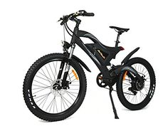 Addmotor HITHOT Power Mountain Electric Bikes Motor 500W 48V 26 inch Wheel Power Alloy Frame Mountain EBike 2017 H2 Electric Bicycle With LithiumIon Battery >>> Read more at the image link-affiliate link. #ElectricBike