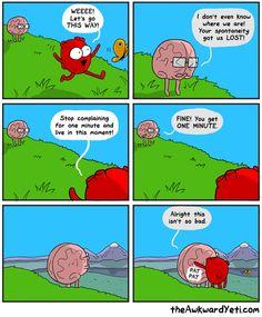 The Awkward Yeti Comic Strip, March 04, 2016 on GoComics.com