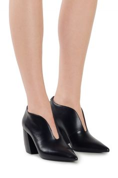 cf00d5e6e873 Jeffrey Campbell Shoes THESIS Booties in Black Thesis
