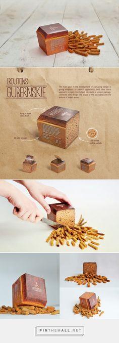 Grenki #breadsticks #packaging designed by Ural Branding Company - http://www.packagingoftheworld.com/2015/04/grenki.html