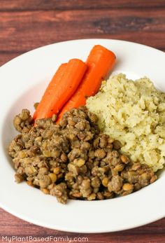 This easy Instant Pot recipes will impress your family. Instant Pot Lentils, Broccoli Mashed Potatoes and Carrots are vegan comfort food.