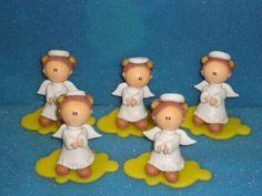 Angelitos Para Souvenirs En Porcelana Fria - $ 11,00 en MercadoLibre