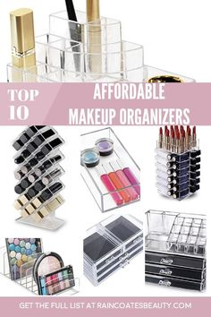 Makeup Storage Luxury order Makeup Vanity Table Set across Makeup Revolution Iconic Vitality provided Makeup Shack Cosmetics Makeup Storage Hacks, Makeup Storage Drawers, Makeup Organization, Office Organization, Makeup Guide, Makeup Tools, Makeup Brushes, Pink Makeup, Cute Makeup