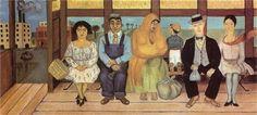 El Camion - Frida Kahlo (1929)