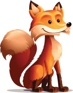 Red Fox: Seated