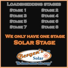 Whatever stage of Loadshedding you are on, it's not convenient. Switch to Solar. Solar Power Panels, Best Solar Panels, Solar Energy System, Solar Powered Generator, Solar Energy For Home, Solar Solutions, Alternative Energy Sources, Energy Resources, Renewable Energy