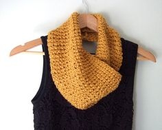 """On sale for just $16 ~ Now through 2/28/15, use the code """"FebSale15"""" to receive 50% off my handmade organic cotton infinity scarf with the purchase of any scarf, gloves, boot cuffs set or Modern Muff. At just $16 this is an amazing deal!"""