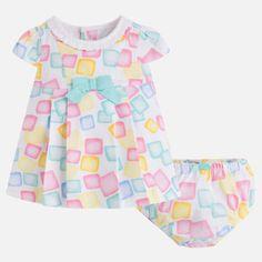 780140202b5c Dievčenské vzorované šaty s nohavičkami Mayoral - Tropical