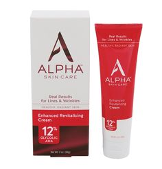 Alpha Skin Care Enhanced Revitalizing Cream 12% Glycolic AHA, 2 Ounce ** This is an Amazon Affiliate link. See this great product.