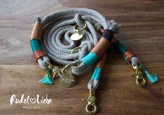 Halsband LITTLE TOKYO / Leine LOVE BIRD www.rudelliebe.de  #hippie #summeroflove #boho #dogcollar #leather #halsband #hund #dog