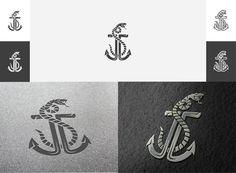 "September 2012: ""JJS"" Anchor logo design by pixelmatters"