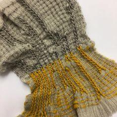 Textile sample #knitting #weave #rcatextiles #crochet #merinowool