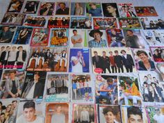 ONE DIRECTION BIG  LOT  CLIPPINGS POSTERS , HARRY , NIALL , LOUIS ,LIAM , ZAYN