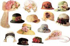Hats from Victorian Trading Company catalog