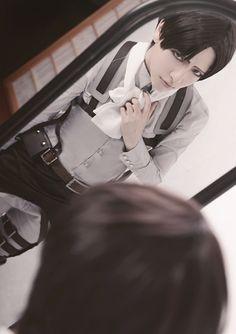 Levi(Attack on Titan)   karinsawa - WorldCosplay