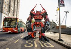 Transformers 4 to Shoot in London in 2013?