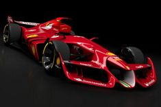 Ferrari's Concept Car Made For Assetto Corsa Ferrari F1, Carros Ferrari, Lamborghini, Gt Cars, Race Cars, Maserati, Bugatti, Gp F1, Formula 1 Car