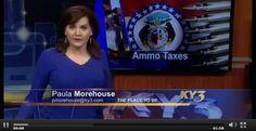 NEWS/LE: Lawmaker favors special sales tax on guns, ammo (VIDEO) - http://www.gunproplus.com/newsle-lawmaker-favors-special-sales-tax-guns-ammo-video/