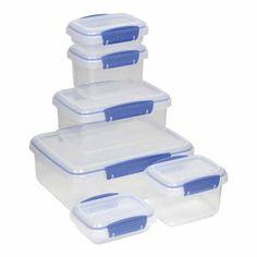 Sistema Klip It 6 Piece Container Set - Mitre 10