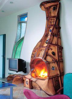 Камин в современном интерьере | Авторские работы | Журнал «Камины и отопление»