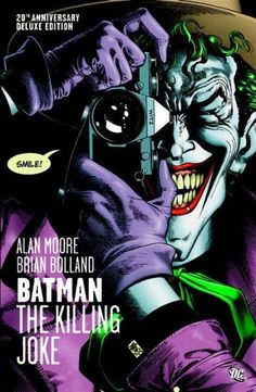 A <i>NEW YORK TIMES</i> BESTSELLER<br><br>Presented for the first time with stark, stunning new coloring by Bolland, BATMAN: THE KILLING JOKE is Alan Moore's unforgettable meditation on the razor-thin line between sanity and insanity, heroism and villa...
