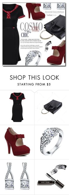 """""""Cosmo girl"""" by fashion-pol ❤ liked on Polyvore featuring Bobbi Brown Cosmetics and vintage"""