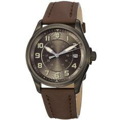 Victorinox Swiss Army Men's 241519 Infantry Vintage Brown Dial Watch Victorinox Swiss Army. $495.00. Save 43%!