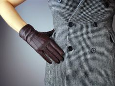 Echtes Leder Unisex Handschuhe  Handgelenk lange von EastWorkshop, $9.98