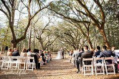 Woodland Fields Photography | Savannah Wedding Photography | Destination wedding | wormsloe historical site | outdoor wedding ceremony