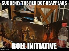 kitty DM GM ungeons and dragons tabletop rpg memes