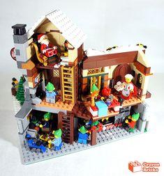 Lego Christmas Village 2019 39 Best Lego Winter Village Ideas images in 2019   Lego winter