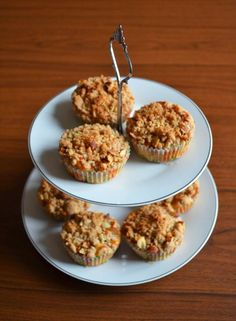 Apple and Almonds Crumble Muffins