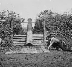 """Quaker Gun"" deception, American Civil War, 1862"