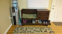 Awesome repurposed dresser that my friend's dad made!