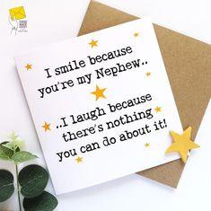 Birthday Message For Nephew, Happy Birthday Nephew Quotes, Birthday Verses For Cards, Birthday Cards For Niece, Cool Birthday Cards, Happy Birthday Wishes Cards, Birthday Card Sayings, Birthday Blessings, Birthday Messages