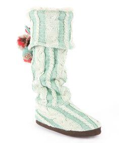 Vanilla & Wintergreen Anika Slipper Boot - MUK LUKS