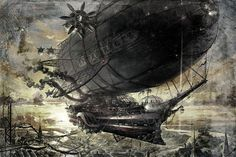 Steampunk Tendencies | New steampunk art by stranger from megaloton...